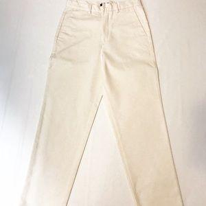 dockers short size 6 ivory white pants